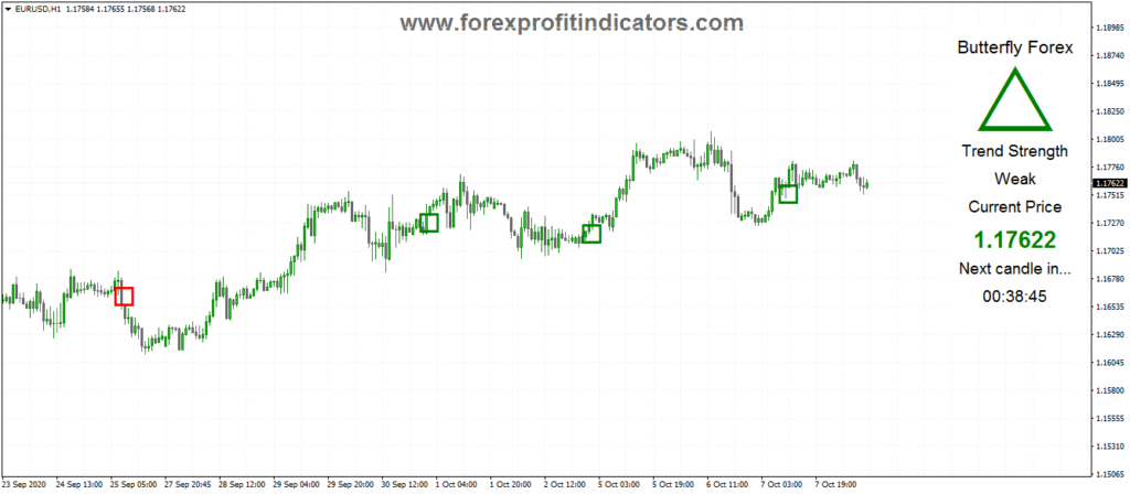 Price Action Indicator mt4- Butterfly Forex system 1